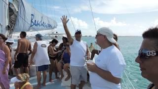 Catamaran Party Boat Ride at Beaches Turks & Caicos