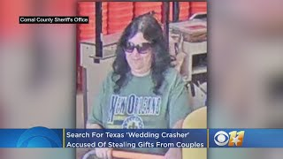 Authorities Searching For Texas 'wedding Crasher' Who Steals Gifts On Couples' Special Day