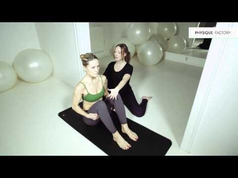 Instruktionsfilm från Physique Factory: Pilates Advanced