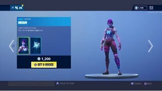 FORTNITE NEW LUMINOS AND DREAM SKINS AND ASTRAL AXE HARVESTING TOOL!