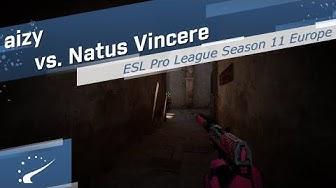 aizy vs. Natus Vincere - ESL Pro League Season 11 Europe