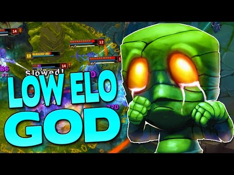 THE LOW ELO GOD - Amumu Jungle - League of Legends Season 7