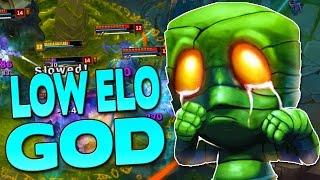 THE LOW ELO GOD - Amumu Jungle - League of Legends Season 7
