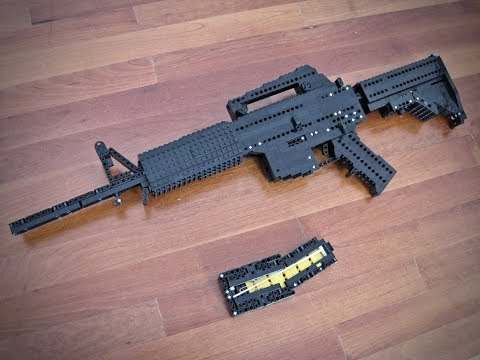 how to make a lego semi auto gun