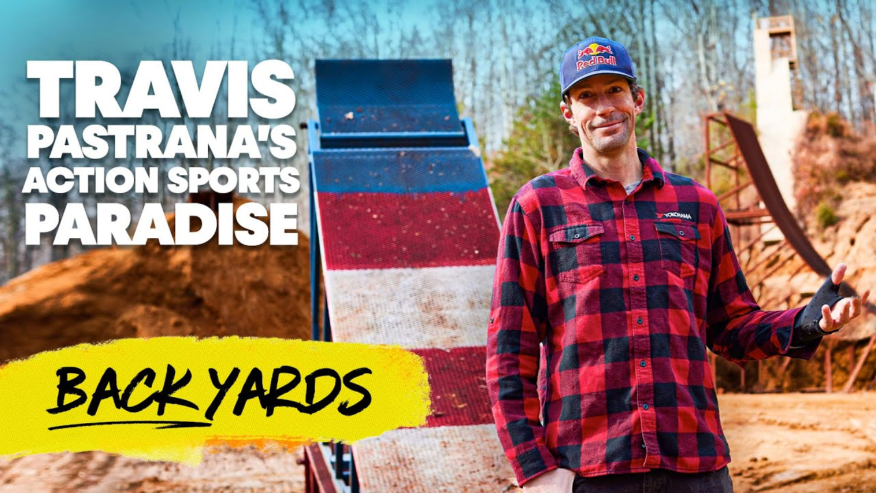 Take a Tour of Pastranaland With Travis Pastrana