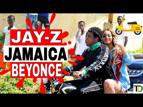 JAYZ and BEYONCE brought EXCITEMENT to TRENCH TOWN with VIDEO SHOOT  Teach Dem