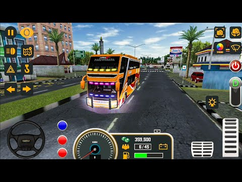Mobile Bus Simulator New Bus #2 - Android Gameplay FHD