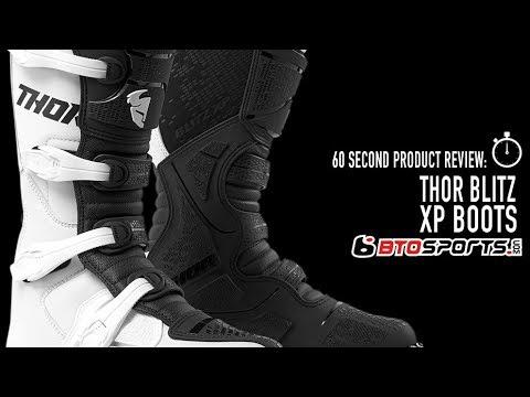 White//Black 12 Thor MX Motocross Men/'s Blitz XP Boots