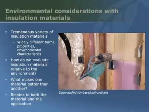 Choosing Insulation with Alex Wilson of BuildingGreen