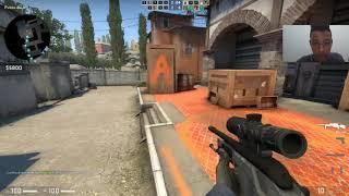 jugando en el mapa de inferno// gs:go// counter strike global offensive