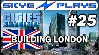 Cities: Skylines Building London #25 ►Underground - More District Line◀ Gameplay