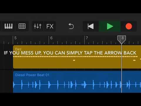Tutorial Of Easy Music Making (GARAGE BAND) thumbnail