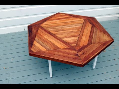 DIY basic tools, Reclaimed Wood Coffee Table