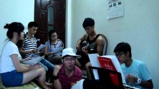 Thu cuối cover guitar - Bìm Bịp Band.MPG