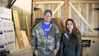 how to install metal roofing on a tiny home ana white tiny house build episode 6