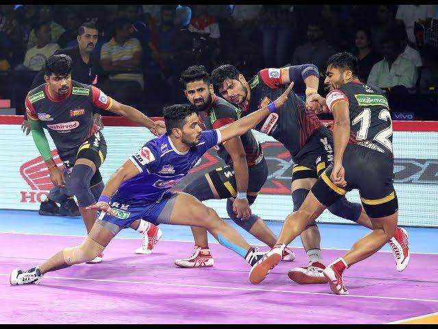 Pro Kabaddi 2019 Highlights: Bengaluru Bulls vs Haryana Steelers [30-33]