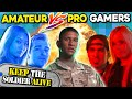 Who Can Keep The Soldier Alive The Longest? PROS Vs. AMATEURS Ghost Recon