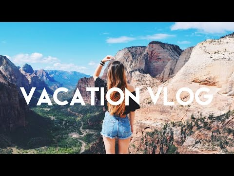 TRAVEL Diary: Zion Canyon // Bryce Canyon (My Vacation Vlog)
