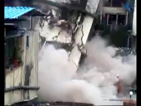 Thane Mumbra building collapse 21  September 13