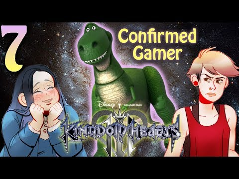 Kingdom Hearts 3: Rex Confirmed Real Gamer Part 7 (2 Girls 1 Let's Play)
