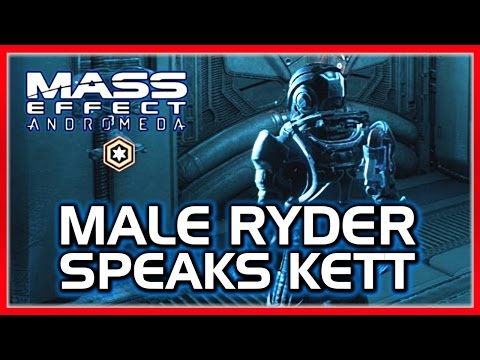 Mass Effect ANDROMEDA: Ryder Does a Kett Impression (With SAM's Help)