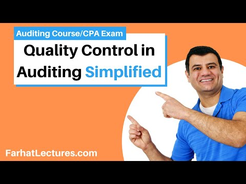 Quality Control Standards | Auditing And Attestation | CPA Exam | 12