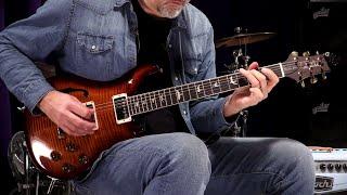 Baixar PRS Guitars Wood Library Semi-Hollow McCarty 594 - Brazilian Rosewood • SN: 18260177