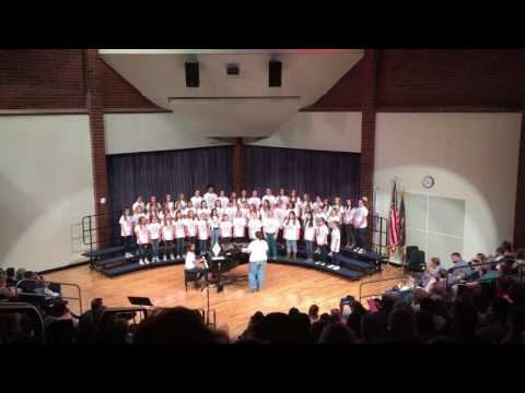 Albion Middle School Ladies Chorus - Dust in the Wind