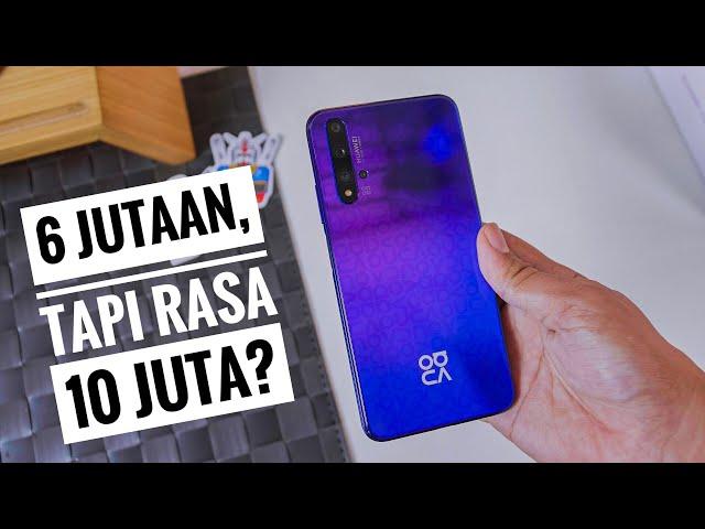 Harga Huawei Nova 5T Terbaru Indonesia dan Spesifikasi