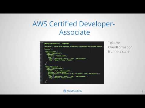 Prepare for AWS Certifications - Cloud Academy
