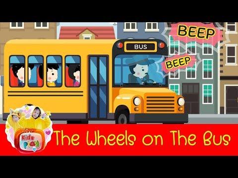 The Wheels on The Bus   เพลงเด็กภาษาอังกฤษ