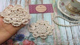 Aprenda a Fazer uma Linda Flor de Crochê