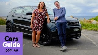Range Rover Evoque HSE Dynamic Td4 180 2016 review | Torquing Heads video