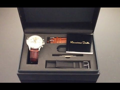 Massimo Dutti Watch Unboxing & Preview