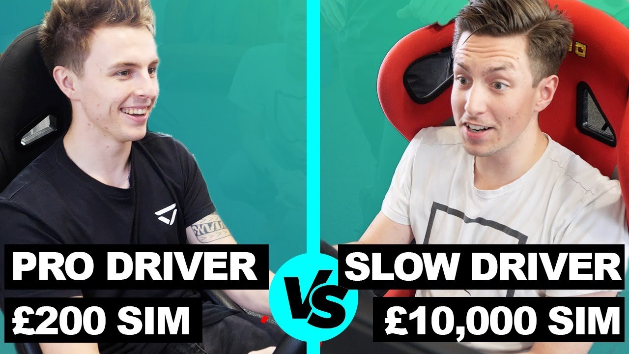 Driver61: World's Fastest Gamer vs Normal Guy
