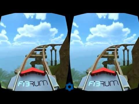 Vr Video 3d Roler Coster Animasyon