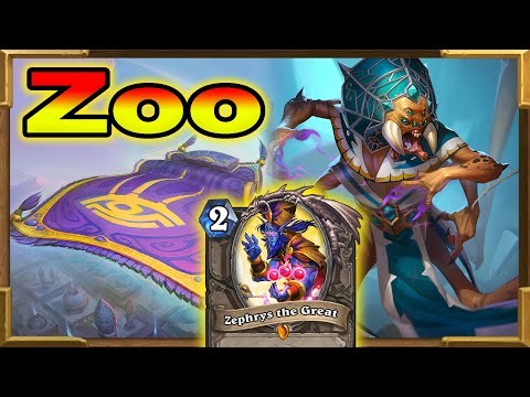 Hearthstone: Highlander Zoo Warlock It's Invincible! Part 2 | Saviors Of Uldum New Decks