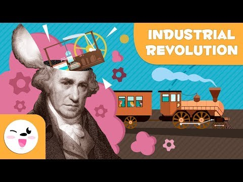 The Industrial Revolution - 5 things you should know - History for children