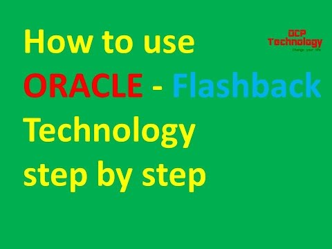 Oracle Tutorial - How to use Flashback Technology part -1