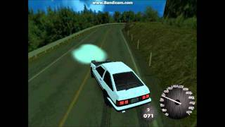 gta sa ae86 drift part 2