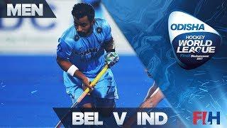 Belgium v India - Odisha Men's Hockey World League Final - Bhubaneswar, India