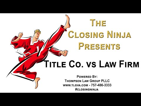 Best Real Estate Attorney Hampton Roads - Title Co. vs Law Firm
