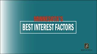Minnesota's Child Custody Best Interest Factors