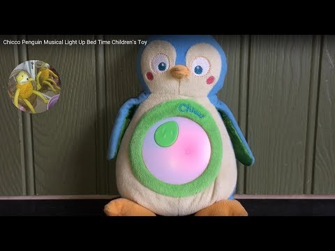 Chicco Penguin Musical Light Up Bed Time Children's Toy