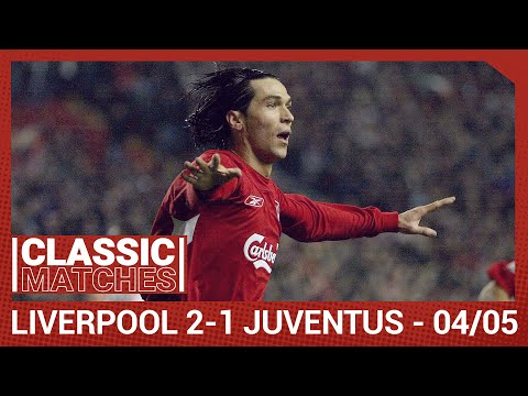 European Classic: Liverpool 2-1 Juventus | Garcia Wonder Strike In Champions League
