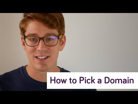 How to Pick a Domain Name!