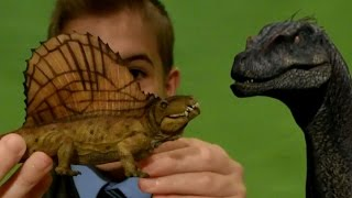 Dimetrodon and Dilophosaurus from Papo - by James Childs, Toy Consultant.