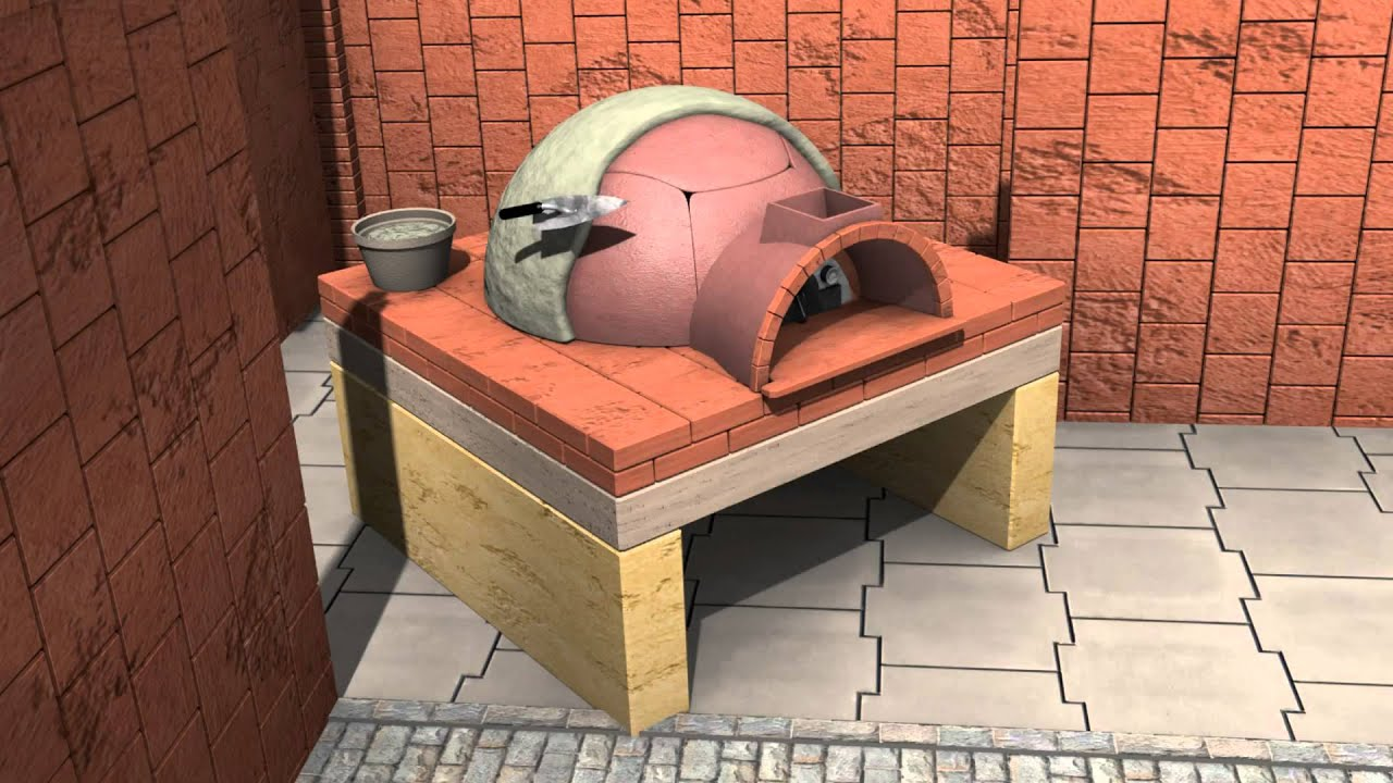 Alfa pizza come installare un forno a legna per la casa how to install pizza youtube - Forno a legna in casa ...