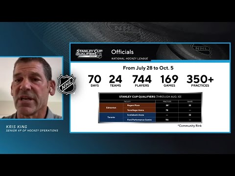 NHL official - Life in the Secure Zone
