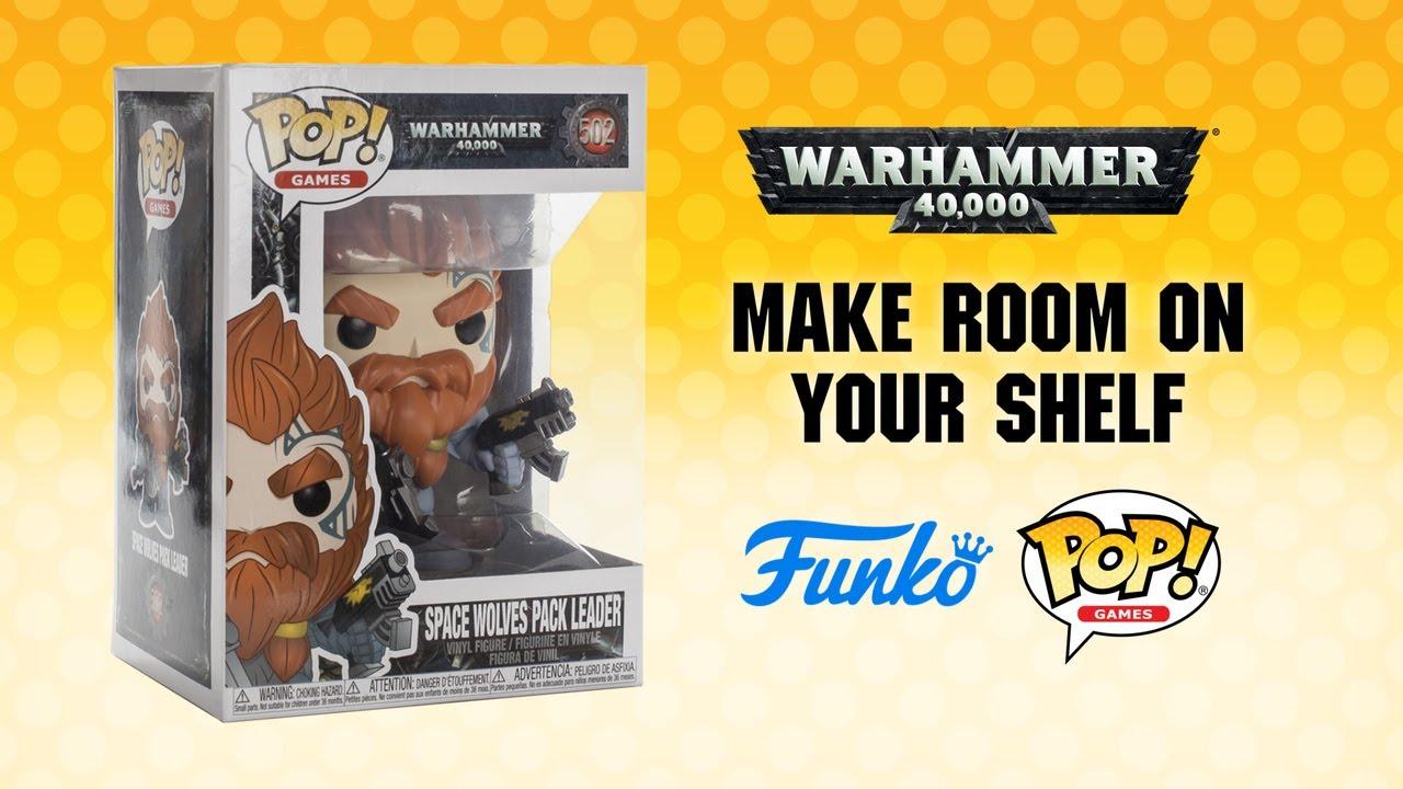 Pop! Funko Warhammer 40K Space Wolves Pack Leader n°502